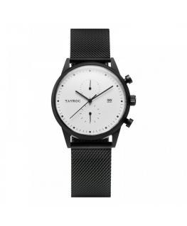 Tayroc Watch boundless white dial matte black b