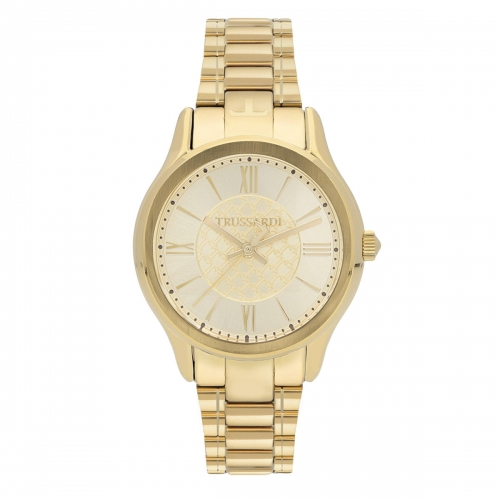 Orologio Trussardi Tfirst lady 34mm 3h champagn