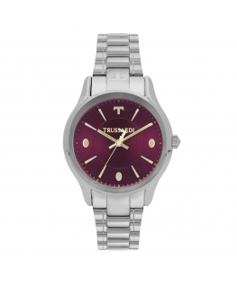 Orologio Trussardi Tfirst lady 34mm 3h bordeaux