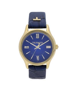 Orologio Trussardi Tfirst lady 34mm 3h blue