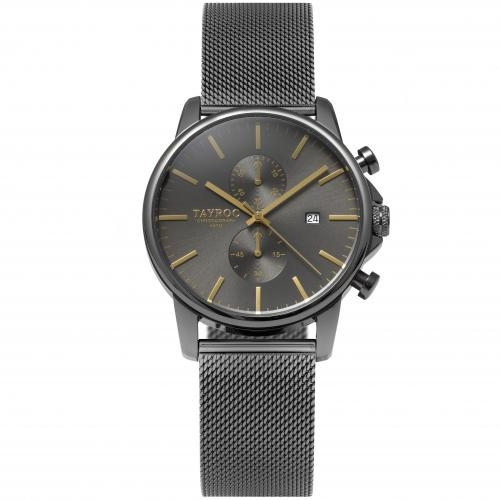 Tayroc Orol iconic black dial light grey br