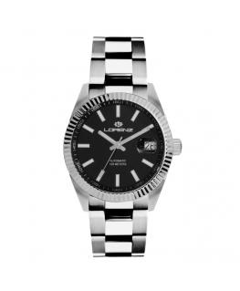 Orologio Lorenz Automatic Ginevra uomo acciaio nero uomo 30164BB
