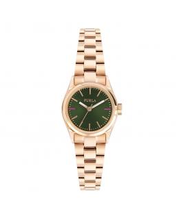 Orologio Furla Eva 24 mm oro rosa / verde