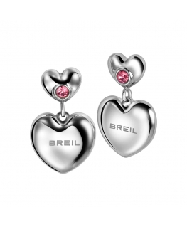 Orecchini Breil Love Around donna / rosa
