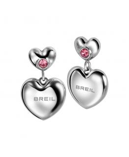 Orecchini Breil Love Around donna / rosa