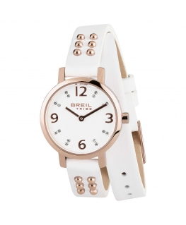 Orologio Breil Meet Up donna pelle bianco - 26 mm