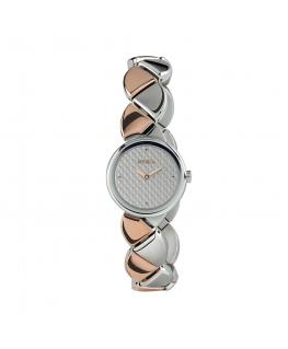 Orologio Breil Hive donna acciaio silver / oro rosa - 26 mm