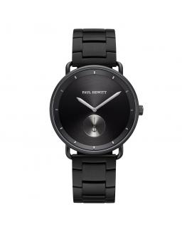 Paul Hewitt Watch breakwater black dial blk metal