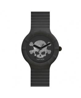 Orologio Hip Hop Skull donna nero - 32 mm