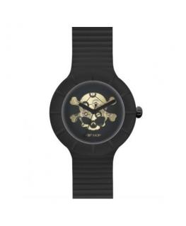 Orologio Hip Hop Skull uomo nero - 42 mm