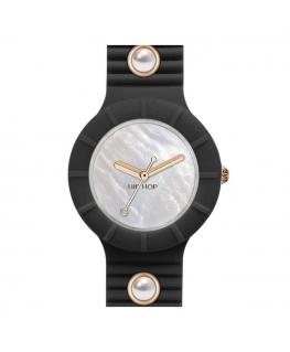 Orologio Hip Hop Pearl donna nero - 32 mm