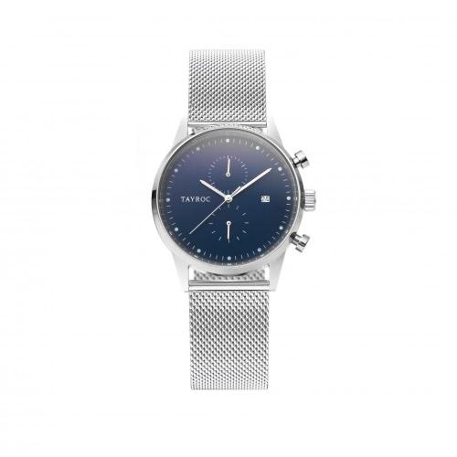 Tayroc Orol boundless blue dial silver br