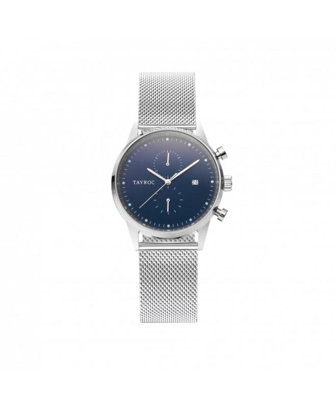 Tayroc Orol boundless blue dial silver br - galleria 1