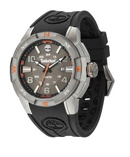 Timberland Altamont 3 hands date black silicone st