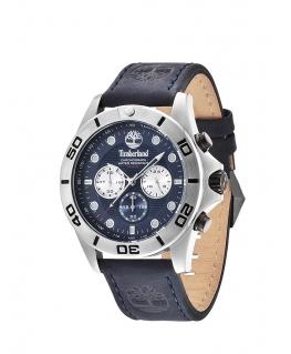 Timberland Northfield chronograph blue leather str