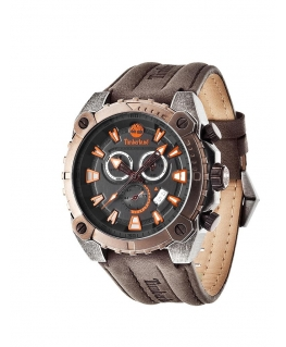 Timberland Pontook chronograph-date dark brown lea