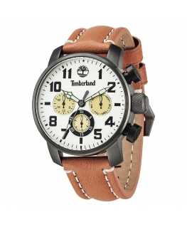Timberland Mascoma mult. white dial brown l. str
