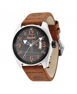 Timberland Sherington 3 hands date brown leather s