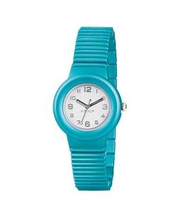 Orologio Hip Hop Aluminium donna azzurro - 32 mm