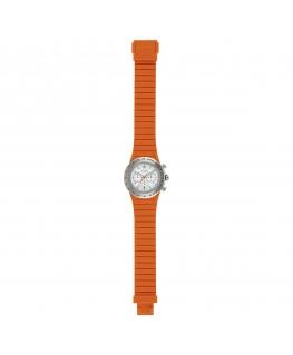 Orologio Hip Hop Chrono orange / silver - 39 mm