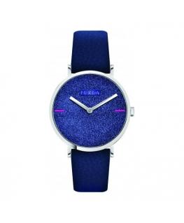 Orologio Furla Giada Sparkle blu - 33 mm