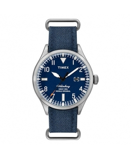 Orologio Timex Waterbury data blu - 40 mm