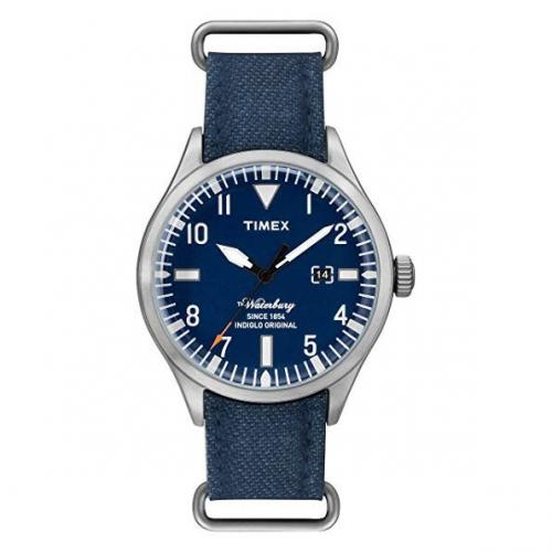 Orologio Timex Waterbury data blu - 40 mm