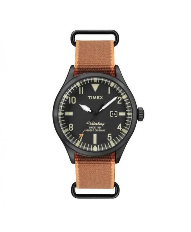 Orologio Timex Waterbury data nero - 40 mm - galleria 1