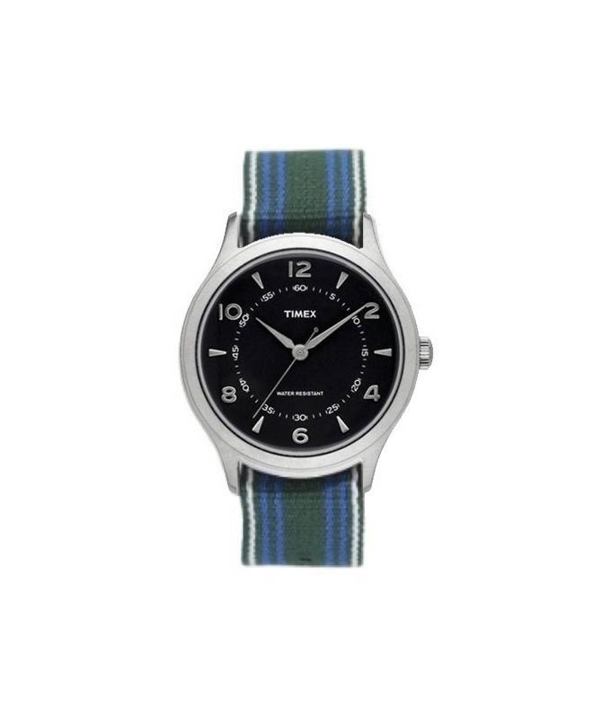 Orologio Timex Whitney Village tessuto - 37 mm - galleria 1