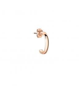 La Petite Story Hoop earrings rg medium