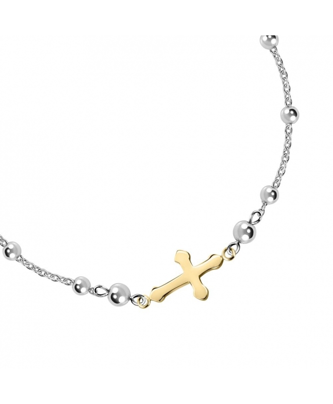 Morellato God br rosary yg cross +ss 210mm - galleria 2