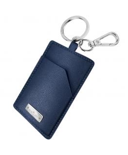 Morellato Keyholder prestige ss blue leather femminile SU3062