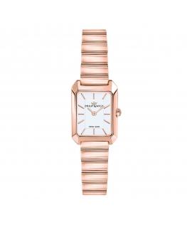 Orologio Philip Watch Eve acciaio oro rosa - 30x22 mm