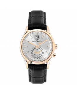 Orologio Philip Watch Sunray uomo pelle 39mm