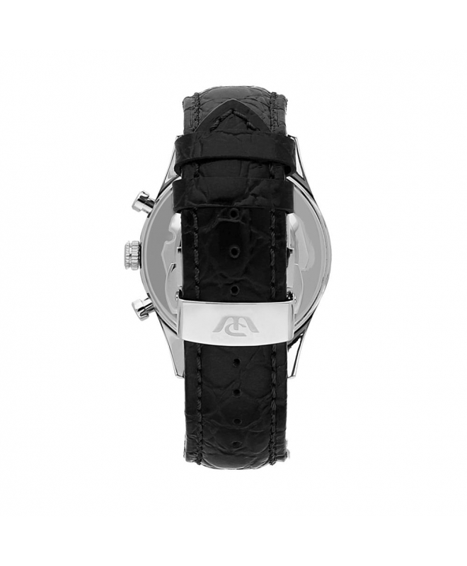 Orologio Philip Watch Sunray uomo pelle nero - 41 mm - galleria 2