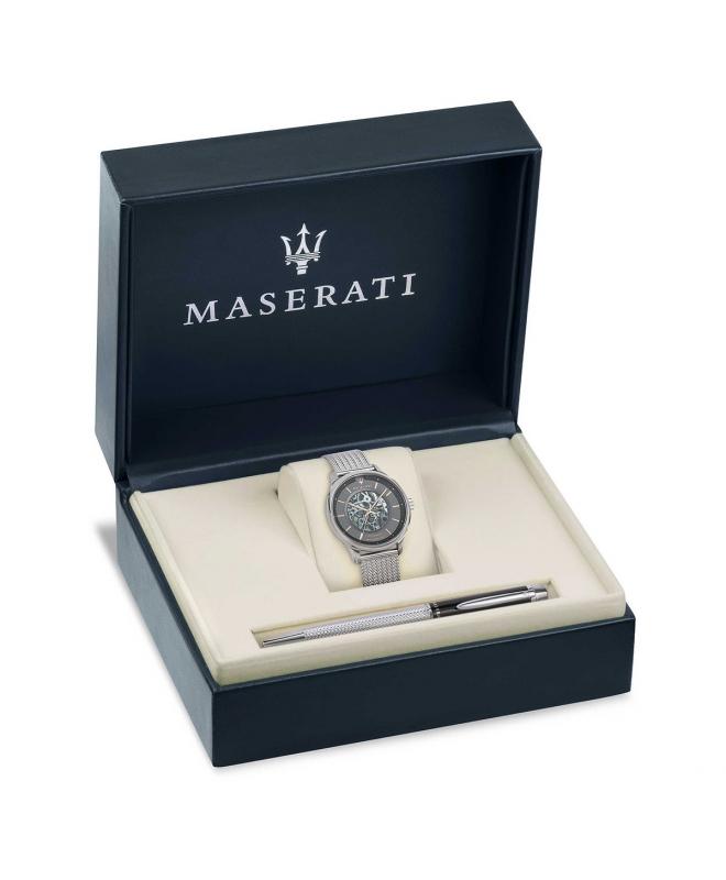 Maserati Gentleman 43mm gray dial br+j880641607 - galleria 1