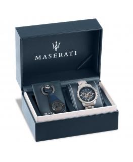 Special box orologio e portachiavi Maserati Successo 44mm