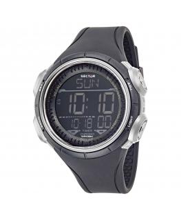 Orologio digitale Sector Ex-22 nero / grigio 44 mm