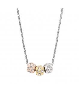 Collana Morellato Drops 3 charms - 42 cm