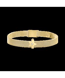 Bracciale Morellato Tesori dorato 1 bead star