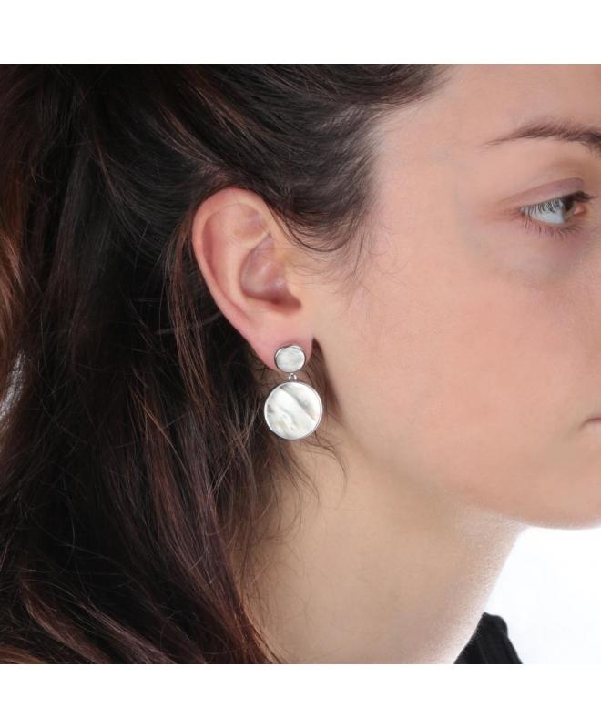 Orecchini Morellato Perfetta argento / madreperla - galleria 2