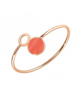 Bracciale Morellato Perfetta argento oro rosa / orange 925