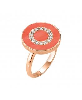 Anello Morellato Perfetta argento oro rosa / orange donna SALX18