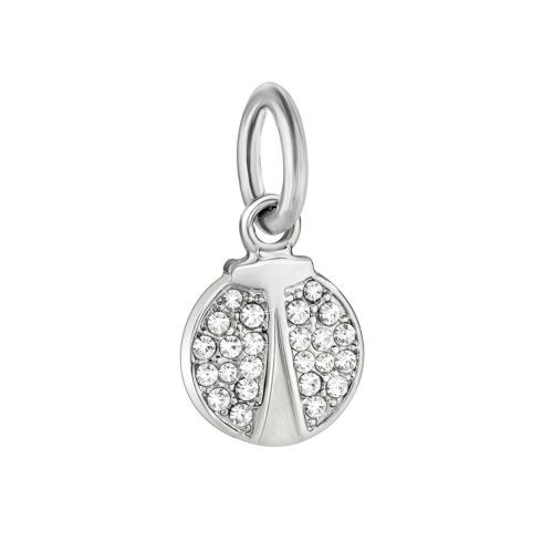 Morellato Drops bead ladybug charm