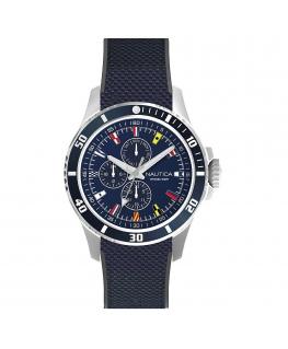 Orologio Nautica Freeboard uomo gomma blu