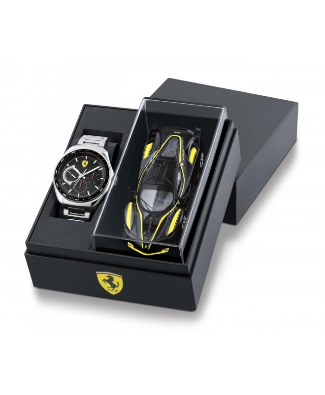Ferrari Speed medal multi. wst. steel strap - galleria 1