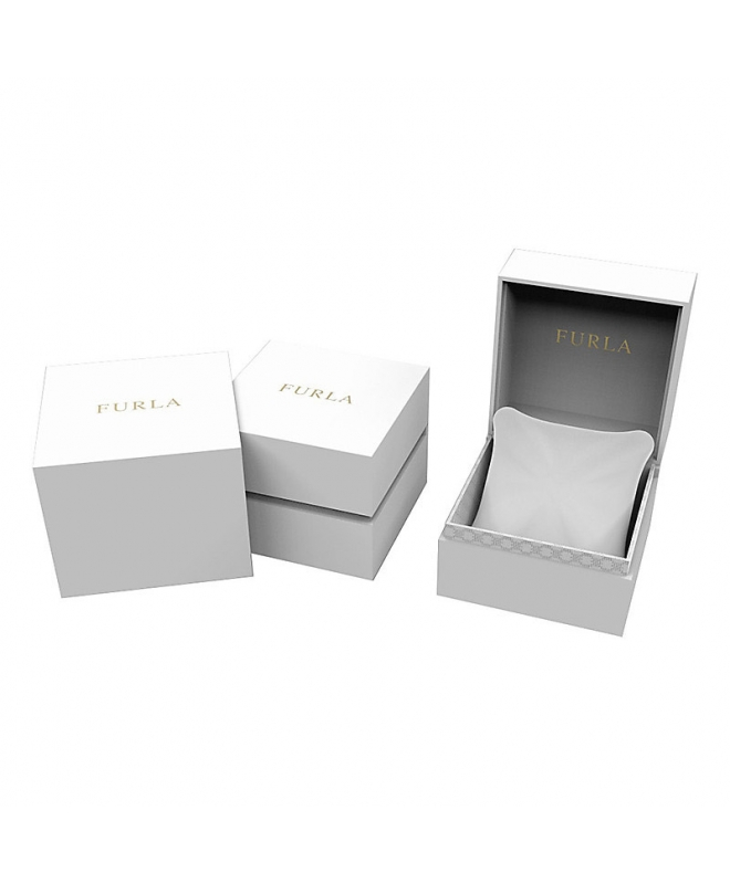 Furla Giada date 33mm 3h white sil s dial mesh - galleria 2