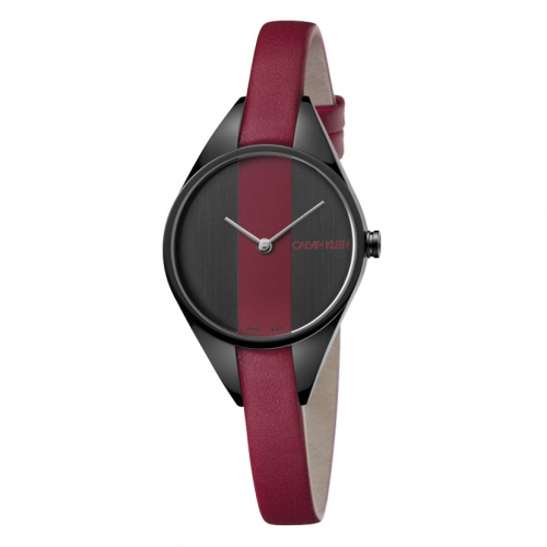 Orologio Calvin Klein Rebel bordeaux - 28 mm