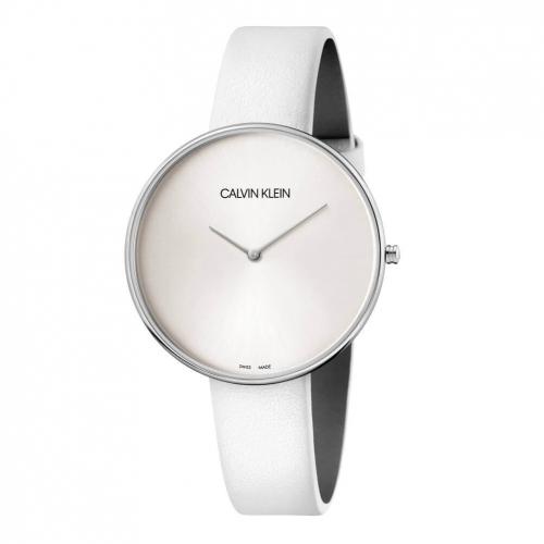 Orologio Calvin Klein Fullmoon bianco - 40 mm