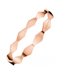 Bracciale Calvin Klein Snake acciaio oro rosa